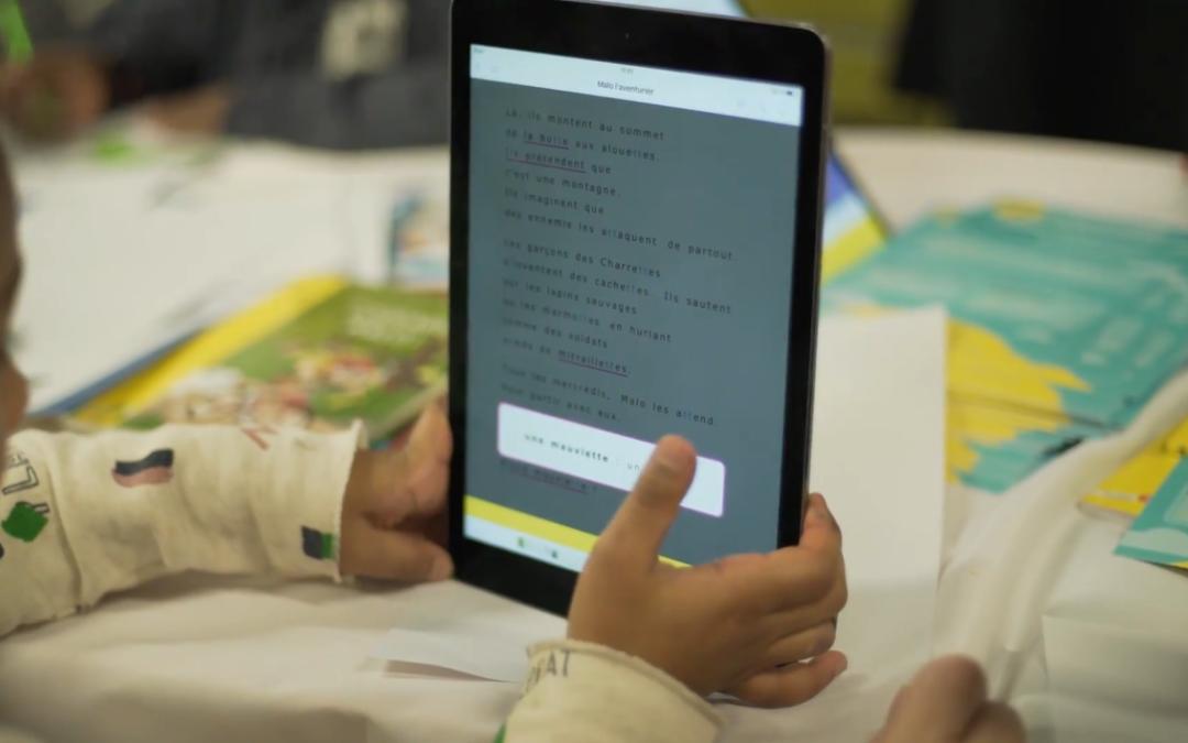 Bibliothèques Sans Frontières x MOBiDYS : une bibliothèque numérique pour les enfants des structures d'hébergement d'urgence.